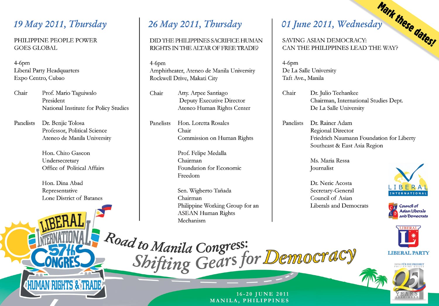 """philippine democracy By czarina medina-guce this blog is first of a series that discusses parts of  the working paper, """"democratic backsliding and shrinking."""