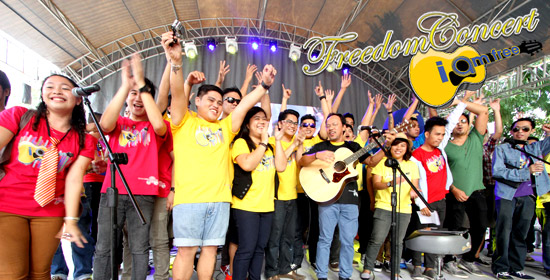Davao Entry Malaya Tops Freedom Song Contest