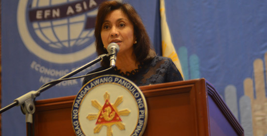 Robredo: Naive to Separate Economic Freedom and Human Rights